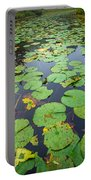 Resting Lilly Pads Portable Battery Charger