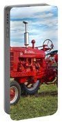 Restored Farmall Tractor Portable Battery Charger