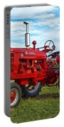 Restored Farmall Tractor Hdr Portable Battery Charger