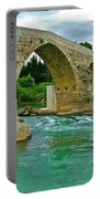 Restored Roman Bridge Over Eurynedan River-turkey Portable Battery Charger