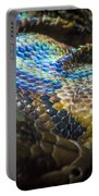 Reticulated Python With Rainbow Scales 2 Portable Battery Charger