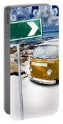 Retro Beach Van Portable Battery Charger