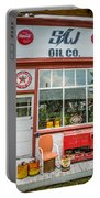 Retro Gas Station Portable Battery Charger