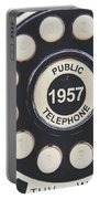Retro Telephone 1957 Public Telephone Portable Battery Charger