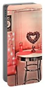 Retro Valentine Portable Battery Charger