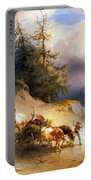 Return From The Mountain Pasture Portable Battery Charger