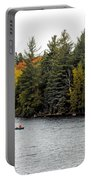 Returning From A Canoe Trip Portable Battery Charger
