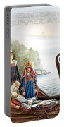 Reunited In Summerland Portable Battery Charger by Melissa A Benson