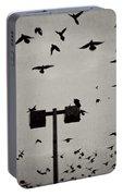 Revenge Of The Birds Portable Battery Charger