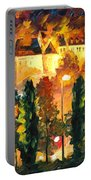 Revived Legend - Palette Knife Oil Painting On Canvas By Leonid Afremov Portable Battery Charger