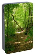 Wooded Path 17 Portable Battery Charger