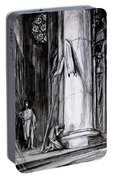 Rheims Cathedral, Scene From St Joan Portable Battery Charger