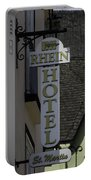 Rhine Hotel St Martin Sign  Portable Battery Charger