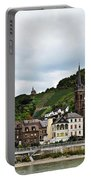 Rhine River View Portable Battery Charger