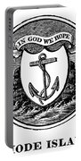 Rhode Island State Seal Portable Battery Charger