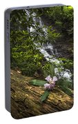Rhododendron At The Falls Portable Battery Charger