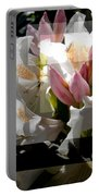 Rhododendron Collage Portable Battery Charger