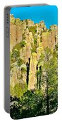 Rhyolite Columns On Ed Riggs Trail In Chiricahua National Monument-arizona Portable Battery Charger