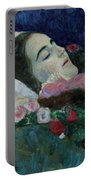 Ria Munk On Her Deathbed Portable Battery Charger