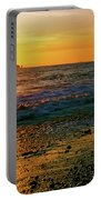 Rialto Beach Sunset Olympic National Park Portable Battery Charger