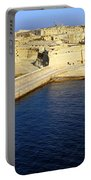 Ricasoli Breakwater At Valletta's Grand Harbor Portable Battery Charger
