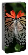 Rice Paper Butterfly Elegance Portable Battery Charger