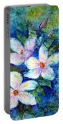 Ricepaper Blooms Portable Battery Charger