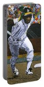Rickey Henderson Portable Battery Charger