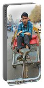 Rickshaw Driver India Portable Battery Charger