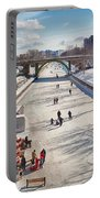 Rideau Skateway Portable Battery Charger