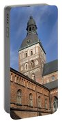 Riga Cathedral Portable Battery Charger