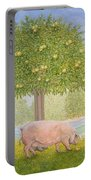 Right Hand Orchard Pig Portable Battery Charger