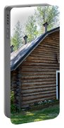 Rika's Barn In Big Delta Historical Park-ak  Portable Battery Charger
