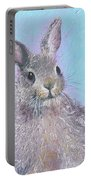 Easter Bunny Painting - Ringo  Portable Battery Charger