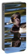 Rings Around Ring-necked Duck Portable Battery Charger