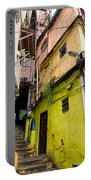 Rio De Janeiro Brazil -  Favela Housing Portable Battery Charger