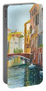 Rio De San Francesco De La Vigna Venezia Italy Portable Battery Charger