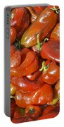 Ripe Red Peppers Portable Battery Charger