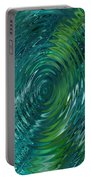 Ripple Sea Glass  Portable Battery Charger