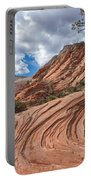 Rippled Rock At Zion National Park Portable Battery Charger