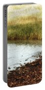 Rippled Water Rippled Reeds Portable Battery Charger