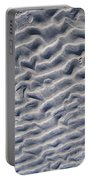 Ripples In The Sand And Surf Portable Battery Charger