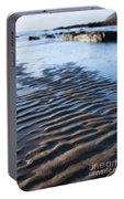 Ripples In The Sand Portable Battery Charger