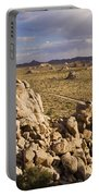 Rise Of Gneis Rock Formations Portable Battery Charger