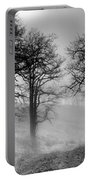 Rising Mists In The Bald Hills Portable Battery Charger