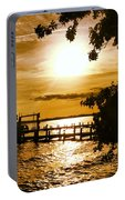 River Acres Jaynes Sunset Portable Battery Charger