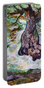River And Plane Tree Portable Battery Charger