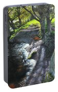 River Dee At Rhug Portable Battery Charger