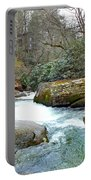 River House In Spring Portable Battery Charger