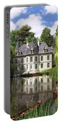 River Mansion Portable Battery Charger by Dominic Davison